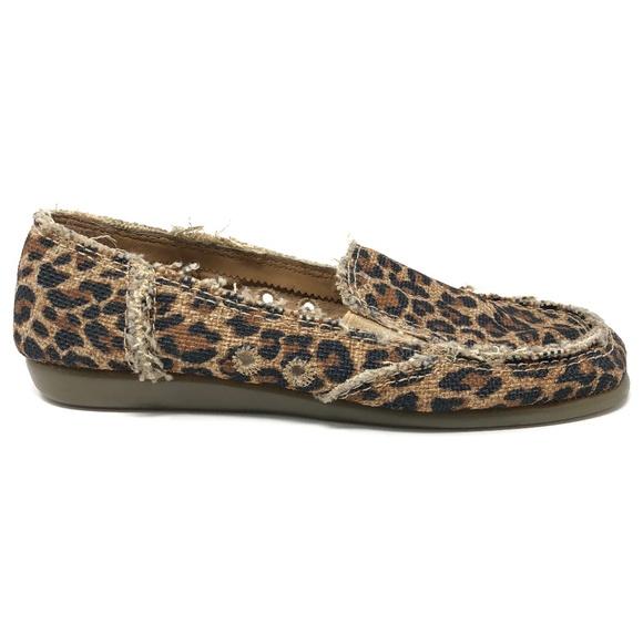 aerosoles leopard print flats